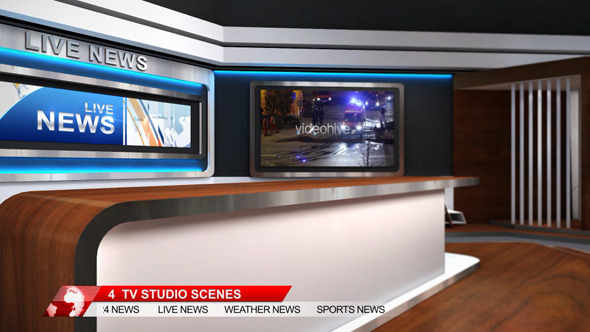 After Effects News Broadcast Packages from VideoHive