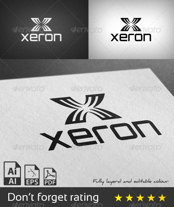 Xeron Logo Template