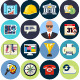 Flat Icons for Web and Applications - GraphicRiver Item for Sale