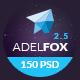AdelFox | Multi-Purpose PSD Template - ThemeForest Item for Sale