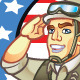 US Soldier Mascot - GraphicRiver Item for Sale