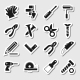 Tools Icons as Labels Vol 2 - GraphicRiver Item for Sale