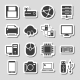 Technology Icons Set as Labels - GraphicRiver Item for Sale