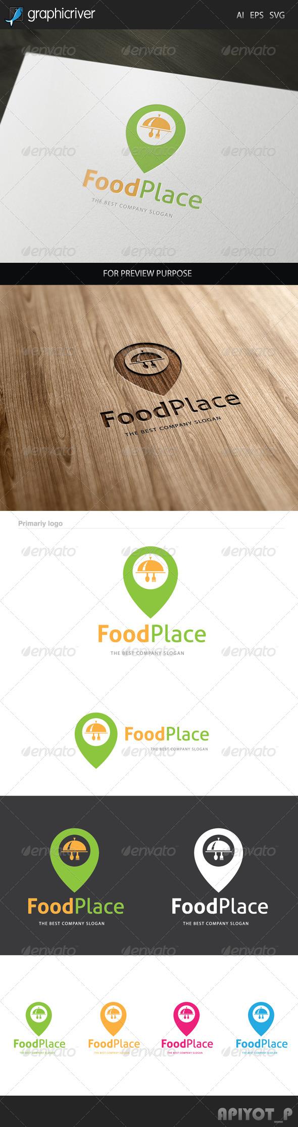 Food Place Logo
