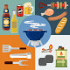 Set of Barbecue - GraphicRiver Item for Sale