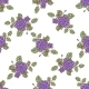 Seamless Pattern with Abstract Roses - GraphicRiver Item for Sale