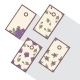 Set of Tags with Abstract Roses - GraphicRiver Item for Sale