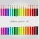Big Color Pencil Set - GraphicRiver Item for Sale