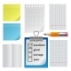 Note Paper Office Set - GraphicRiver Item for Sale