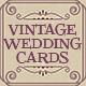 Vintage Wedding Invitation and Card Sets - GraphicRiver Item for Sale