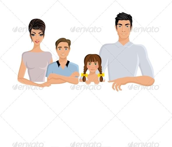 Horizontal Family Banner