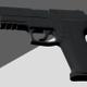 Guns, Pistols, Handguns On Alpha Channel Loops V1 - VideoHive Item for Sale