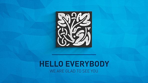 Clean Simple Paper Logo Reveal