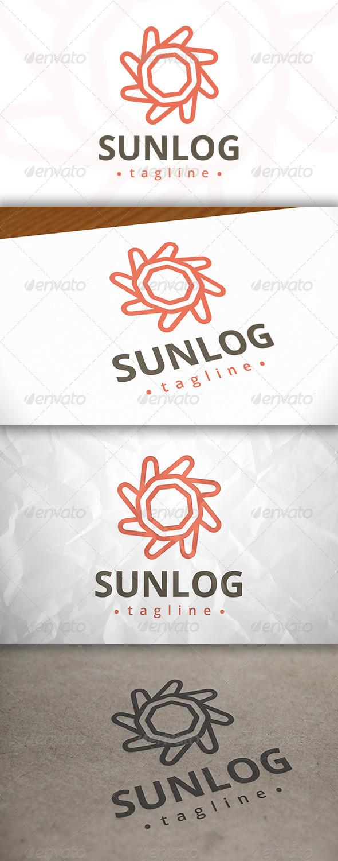 Sun Modern Logo
