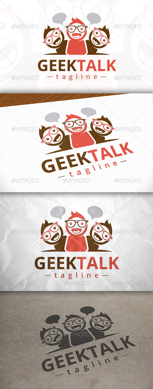 Geek Talk Logo