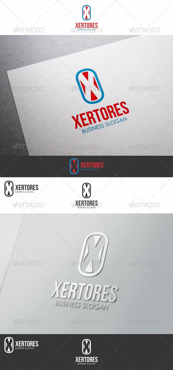 Vector X Logo Letter