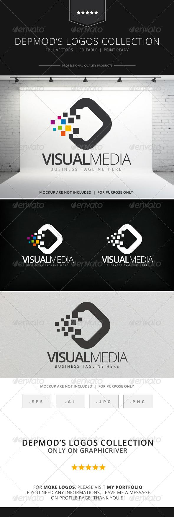 Visual Media Logo