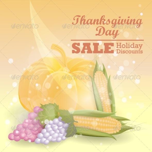 Thanksgiving Sale Design