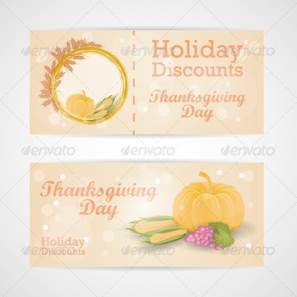 Happy Thanksgiving Day Sale Card