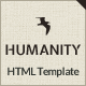 Humanity | NGO, Charity HTML Template - ThemeForest Item for Sale