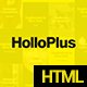 Hollo Plus - Onepage Agency Template - ThemeForest Item for Sale