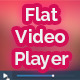 Flat Video Player - GraphicRiver Item for Sale