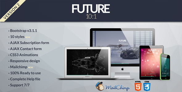 Przyszłość - już wkrótce szablon 10 w 1