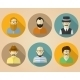 Set of Male Avatars for Social Networks - GraphicRiver Item for Sale