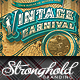 Download Vintage Carnival Circus Event Flyer Template from GraphicRiver