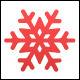 Winter snowflakes set (vector) - GraphicRiver Item for Sale