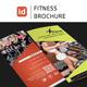 Fitness Brochure Tri-fold Vol-1 - GraphicRiver Item for Sale
