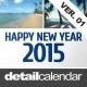 Calendar 2015 Ver. 01 - GraphicRiver Item for Sale