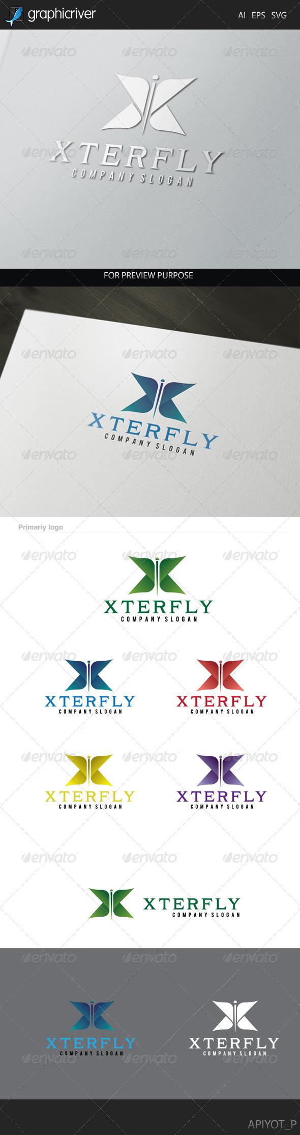 Xterfly Logo.