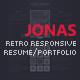 Jonas - Retro Responsive Resume / Portfolio - ThemeForest Item for Sale