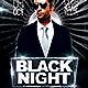 Black Night Flyer - GraphicRiver Item for Sale