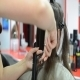 Woman at the Hairdresser 03 - VideoHive Item for Sale