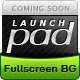 Launch Pad - Full Screen Image Under Construction - ThemeForest Item for Sale