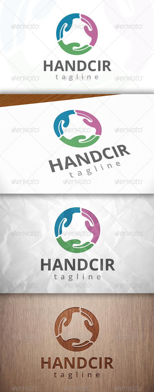 Hand Circle Logo