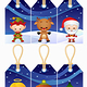 Christmas gift tags - GraphicRiver Item for Sale