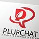 Plur Chat Logo / Letter P Logo - GraphicRiver Item for Sale