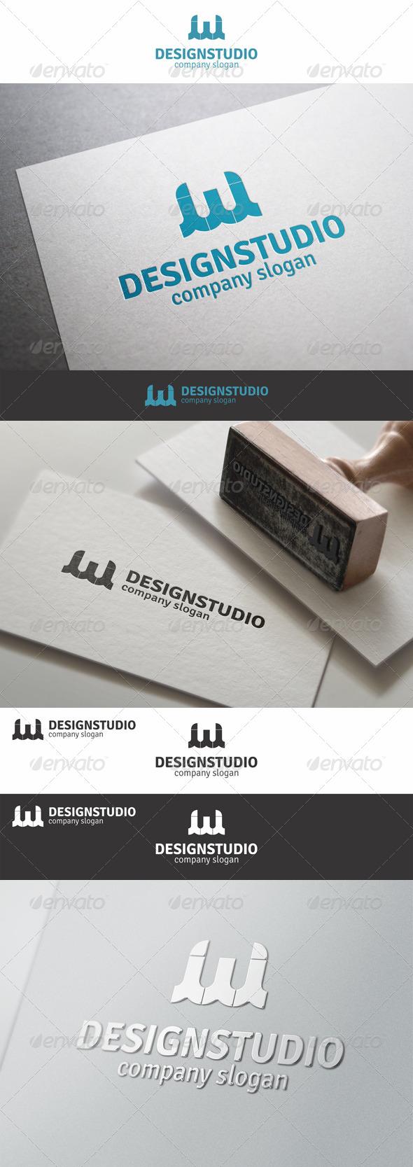 Web Design Studio W Logo