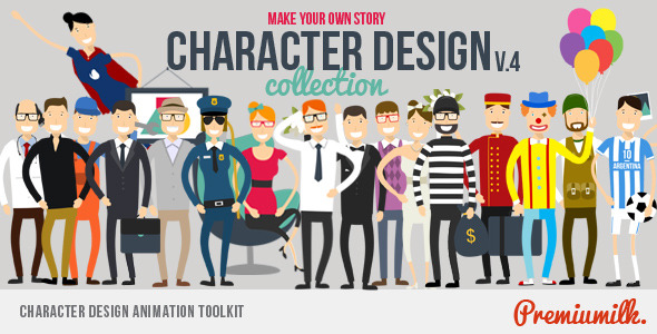 Animation Character After Effects Templates from VideoHive