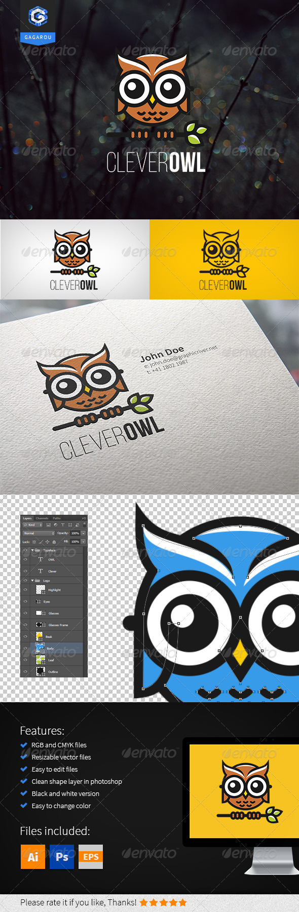 Clever Owl Logo