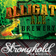 Download Alligator Ale Brewery Flyer Template from GraphicRiver