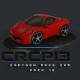 CRCP13 - Cartoon Race Car Pack 13 - 3DOcean Item for Sale