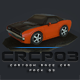 CRCP03 - Cartoon Race Car Pack 03 - 3DOcean Item for Sale