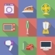 Colorful Icon Set of Household Appliances - GraphicRiver Item for Sale