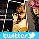 Portfolio Twitter Profile Cover - GraphicRiver Item for Sale