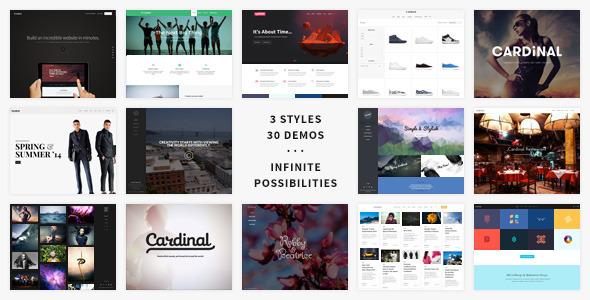 Flat Templates from ThemeForest