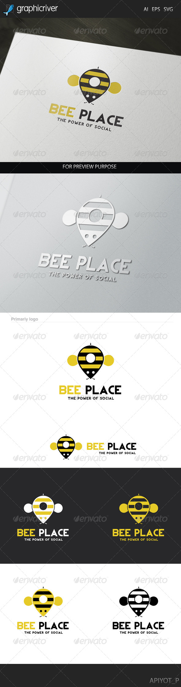 Bee Place Logo
